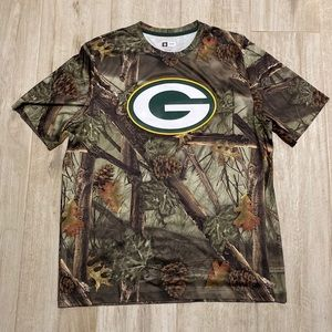 Green Bay Packers NFL The Woods Men's XL T-Shirt